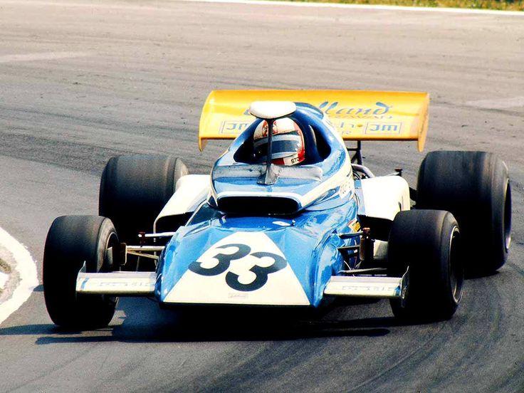 Rolf Stommelen (Eifelland-March 721 Cosworth) Grand Prix de Grande Bretagne - Brands Hatch 1972 - Carros e Pilotos.