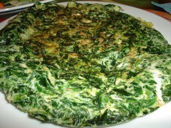 Tortilla de acelga, fácil, sabrosa y sana