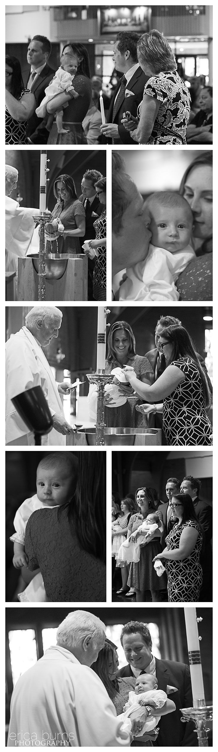 Baptism is the first step of the faith journey, and it's the commitment to God that we would follow him. Look at the child, so innocent, so beautiful; god loves every newly born, and he gives them the chance to start fresh.