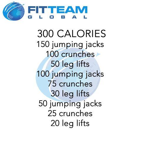 300 Calories