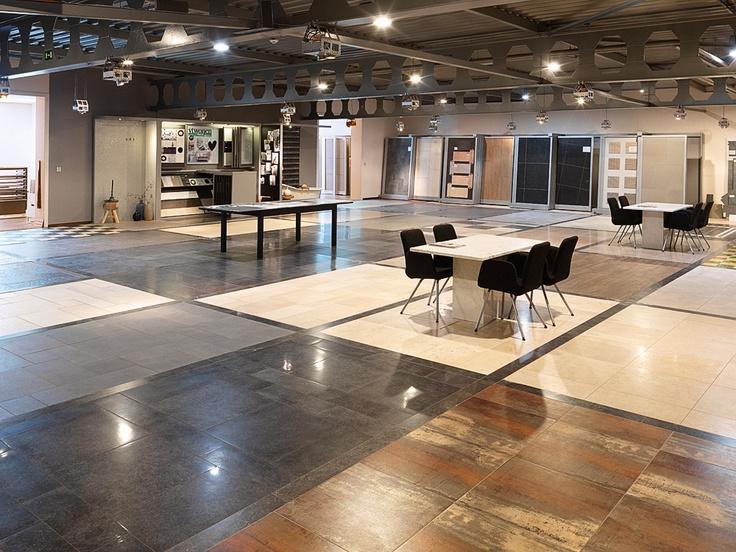 vloertegel showroom