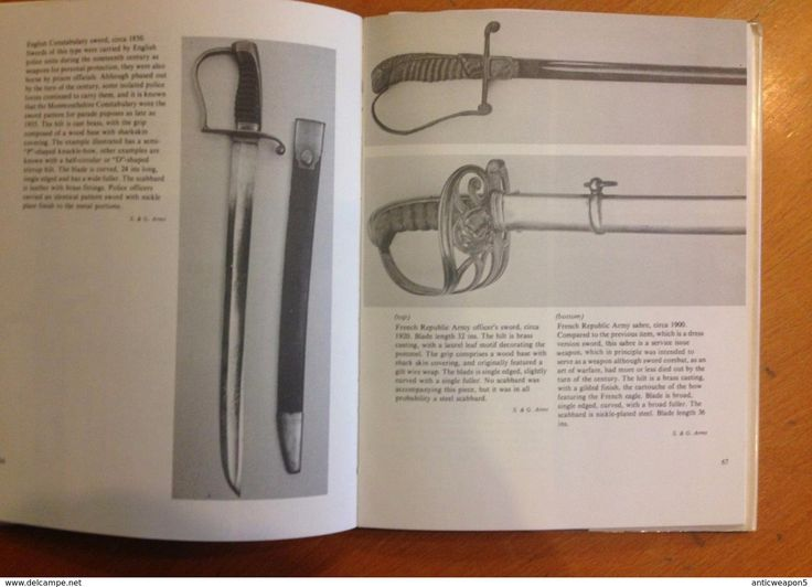 Armi bianche - Military book, Edged weapons. A collector's guide by J Frederick I. Stephens