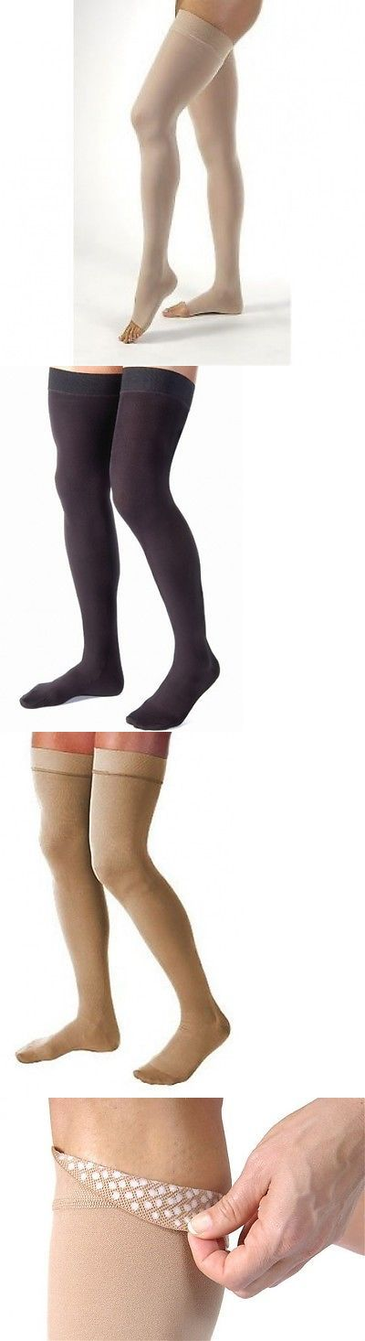 Socks 166695: Jobst Relief Thigh High Compression Stockings, Silicone Dot Band 15-20Mmhg -> BUY IT NOW ONLY: $39.95 on eBay!