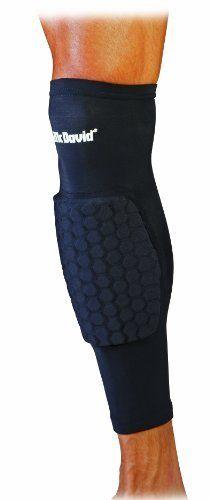 Mcdavid Extended Compression Leg Sleeve with Hexpad Protective Pad (Black, Medium) by McDavid. $24.99. Long length compression leg sleeve with 9mm HexPad protection