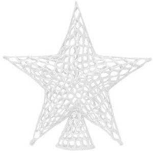 crocheted+star+ | white crochet star tree topper - Polyvore