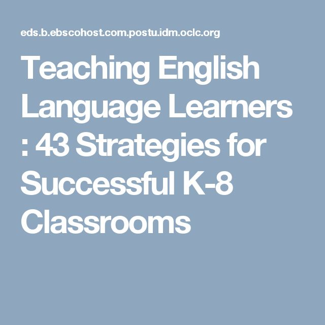 Strategy 21 offers ideas about how to teach the survival words. This concept can be expanded to include many environments such as a grocery store, a bank, the DMV, and other places an adult ELL encounters. Instead of labeling items in the classroom, photos could be used.  Colombo, M. (2012). Teaching English Language Learners: 43 Strategies for Successful K-8 Classrooms. Los Angeles, CA: SAGE Publications, Inc.