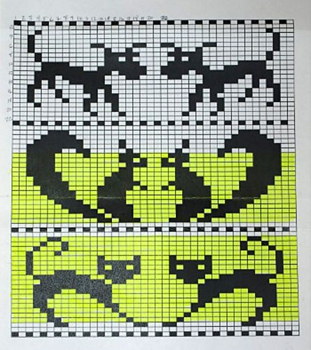 Ravelry: Animals Chart, free pattern by Drew Louise