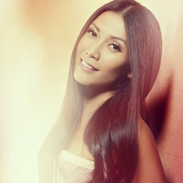 Anggun in Mel Ahyar for InStyle Indonesia