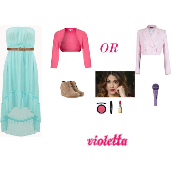 9 Best Images About Moda De Violetta Castillo On Pinterest Pink Blue Fashion Styles And Black