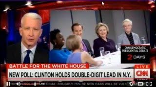 youtube.com Complete: CNN Donald Trump Town Hall With Family April 12,2016..Donald Trump,his wife Melania,and his 3 adult children,Donald Jr. 38,Ivanka 34,and Erick 32, sit down with CNN's Anderson Cooper for a Town Hall. His 2 younger children,Tiffany 22 and Barron 10,sit this one out.