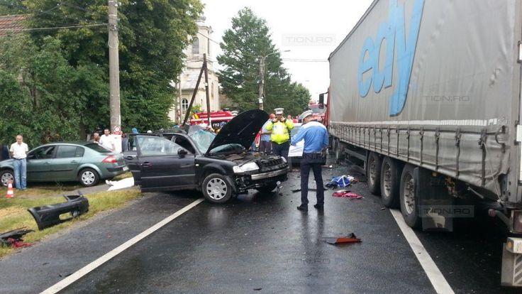 Accident cu patru morti pe drumul Timisoara – Lugoj. Doi copii si-au pierdut viata - TION