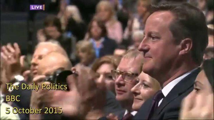 Daily Politics' analysis of George Osborne's Tory conference speech