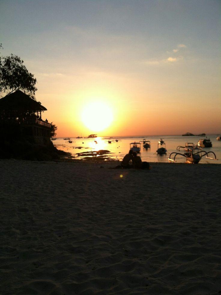Sunset at Nusa Lembongan, Bali