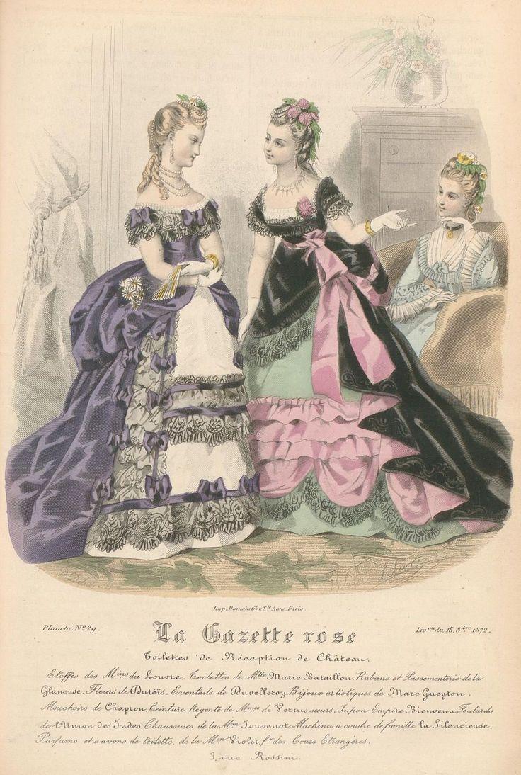 La Gazette Rose 1872