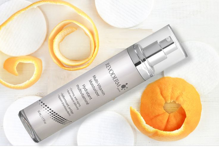 Revoderm hydrating facial Multi-Vitamin Moisturizer infused with Vitamin C and E.