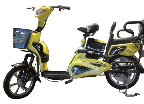 Intersting- $768.00 +100 ship / 2 seater - ugly - nobody wants to steal? :) Revolve - weighs 100 lbs - 16 in wheels / no back shock? / Day Tripper 350W Lead Battery Electric Moped Bike 2013