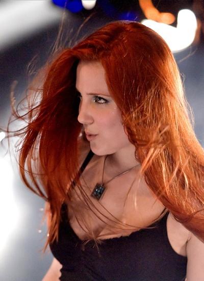 hot redhead chick danish rock band