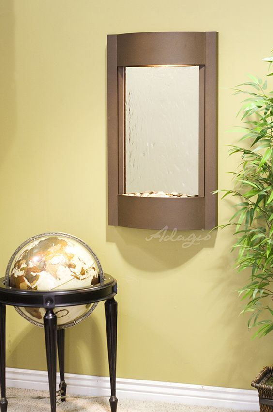 1000 Images About Wall Water Features Indoor On Pinterest