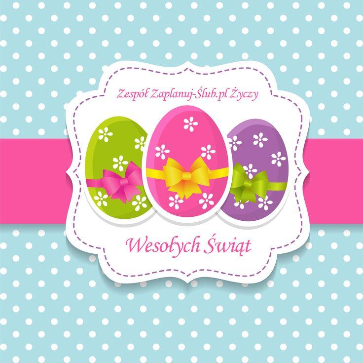Staropolskim obyczajem dużo szynki życzymy z jajem, niech zające i barany pospełniają Wasze plany, niech to będzie czas uroczy - życzymy miłej Wielkanocy! :) :)  Pozdrawiamy, zespół Zaplanuj-Ślub.pl