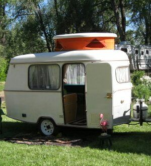 1971 Eriba Puck: Very Rare and Unique Camp Trailer Manufactured in the UK Just 800# - Very Easy To Tow All Original Interior In Excellent Condition New Water Line Windows Newly Secured Tongue & Taillights Refurbished New Safety Chains Bench Seats Refurbished But With Original Blue Clo...
