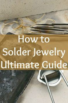 Learn how to solder jewelry the RIGHT way with this FREE eBook filled with step-by-step instructions and projects! #jewelrymaking #soldering #diy