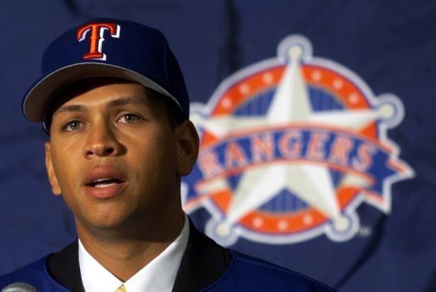 The day Alex Rodriguez signed with the Rangers | Dallas Morning News for 10 years, $252 million