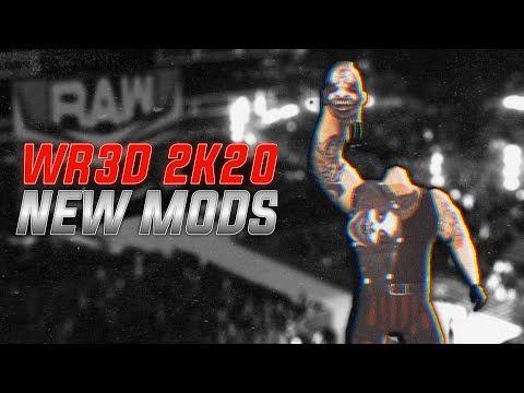 180 Mb Wr3d Wwe 2k20 Mod Released Wr3d 2k20 Mod Youtube Wwe Game Download Wwe Game Wrestling Games