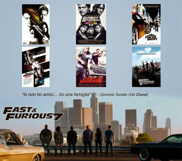 """""""Dovunque voi siate, non importa se a un quarto di miglio o dall'altra parte del mondo. Quello che conta nella mia vita saranno sempre le persone che ho davanti. Proprio qui. Proprio ora. Tu sarai sempre con me...e sarai sempre mio fratello!"""" - Dominic Toretto (Vin Diesel)"""
