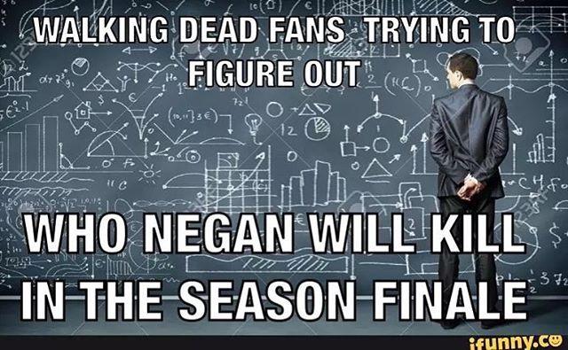 Better be Glenn damnit