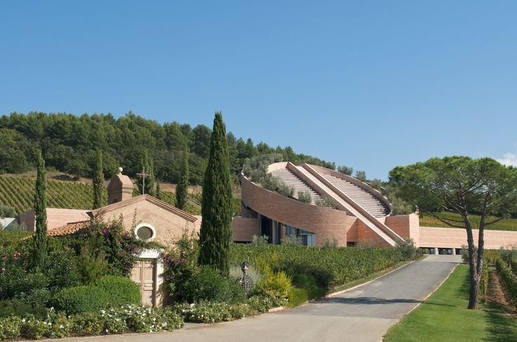 The beautiful Petra Winery in #Tuscany #Italy, #vineyards
