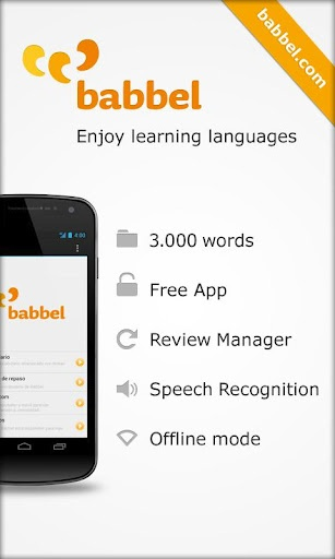 Babbel. This is an awesome app that helps you learn another language!