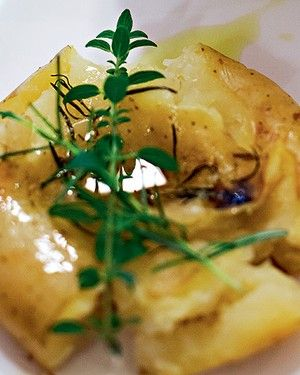 Batatas ao murro (Foto: Lufe Gomes/Casa e Comida)