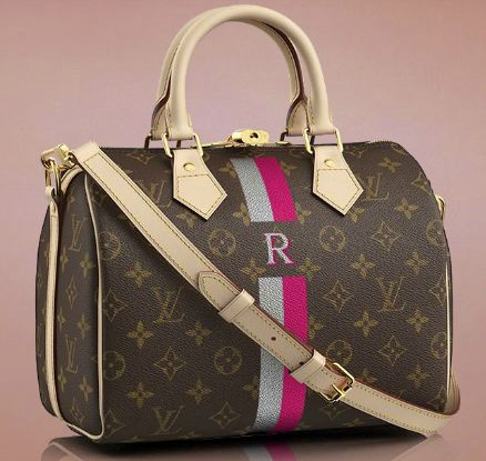 Personalized Louis Vuitton Speedy 25 / Louis Vuitton Perfect for me!!! <3
