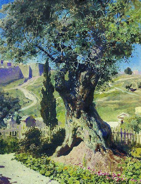 Поленов Олива в Гефсиманском саду.jpg