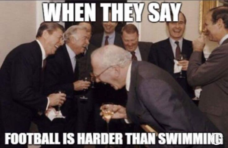 football vs swimming