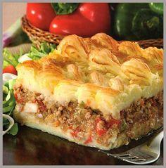 Pastel de carne y papas, una de las comidas más tradicionales ... no hay hogar argentino que no lo conozca ...