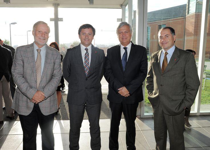 Marco Deluchi, Andrés López, Gastón Saavedra, Marcos Araya.