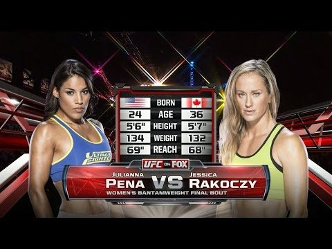 Fight Night Denver Free Fight: Julianna Pena vs Jessica Rakoczy