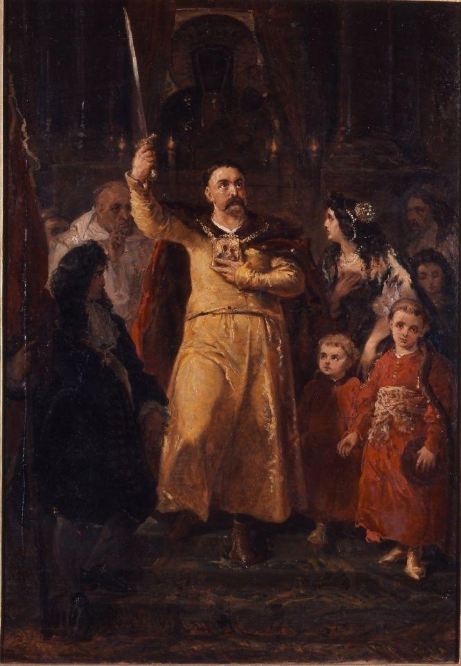 Znalezione obrazy dla zapytania Obraz: Wjazd Jana III Sobieskiego do Wiednia. Obraz Juliusza Kossaka