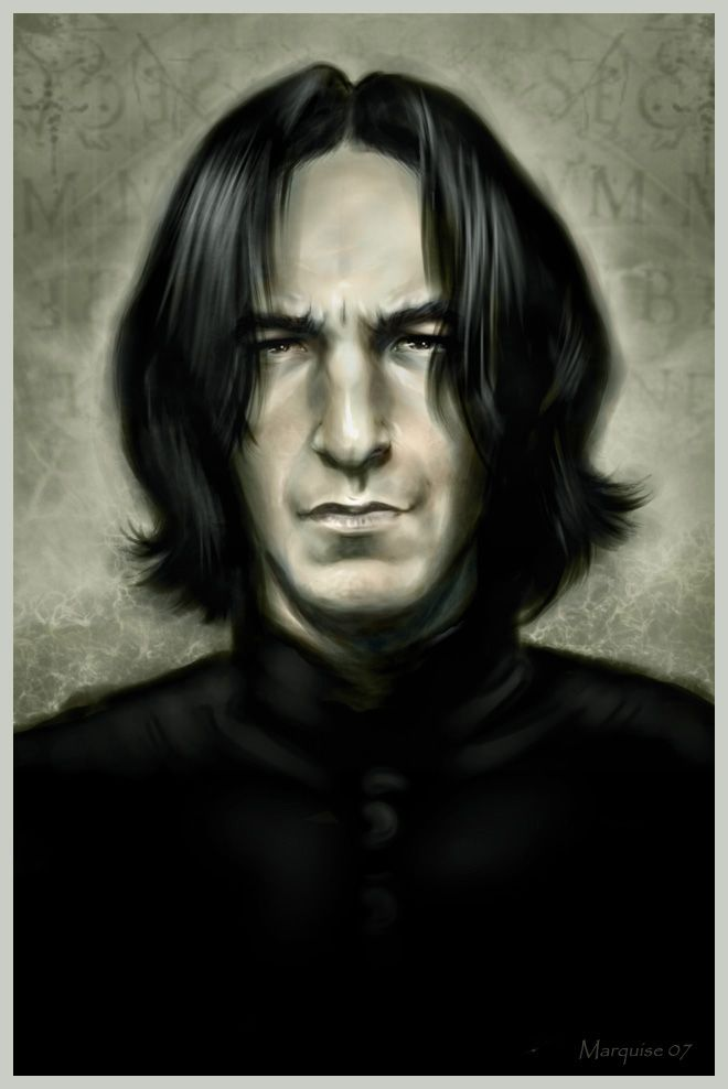 cool: Harry Potter Snap, Harry Potter Character, Severus Snape, Favorite Harry, Things Potter, Fiction Character, Art 3, Severus Art, Potter Th Boys