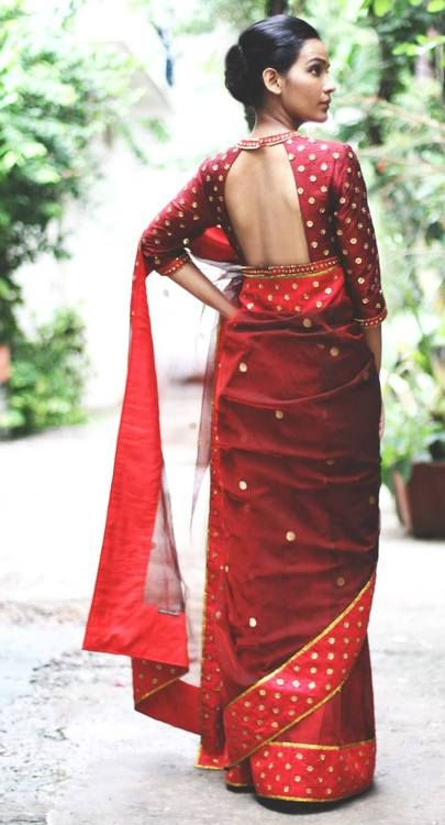 Ravishing Red saree #saree #sari #blouse #indian #outfit #shaadi #bridal #fashion #style #desi #designer #wedding #gorgeous #beautiful