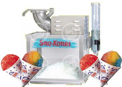 snow cone machine rental los angeles