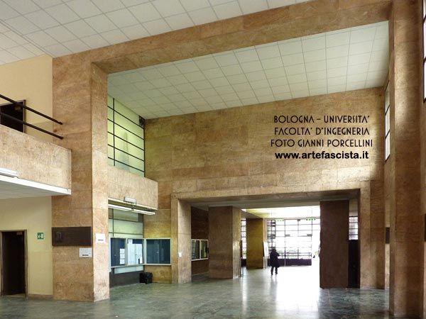 Bologna - Università - Facoltà di Ingegneria Arch. Giuseppe Vaccaro foto Gianni Porcellini