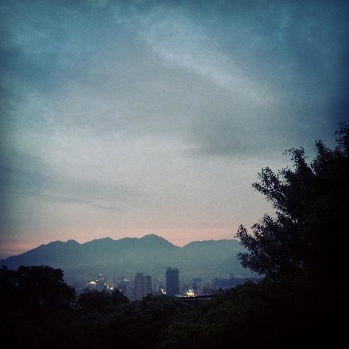 Taipei horizon, from Stephanie