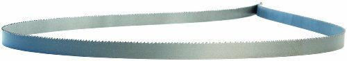 "Lenox Diemaster 2 Band Saw Blade, Bimetal, Hook Tooth, Raker Set, Positive Rake, 234"" Length, 1/2"" Width, 0.025"" Thick, 6 TPI"