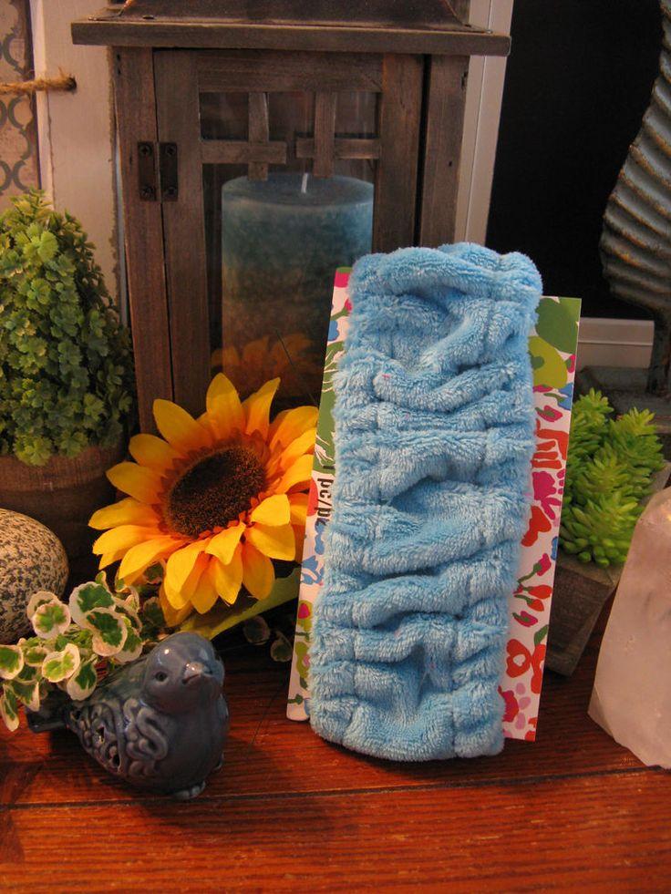 New Snazzy Aqua Blue Terry Hair Wrap Headband Sweat Band | Health & Beauty, Hair Care & Styling, Hair Ties & Styling Accs | eBay!