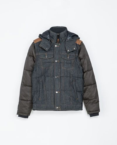 Image 6 of COMBINATION JACKET WITH DETACHABLE PARTS from Zara
