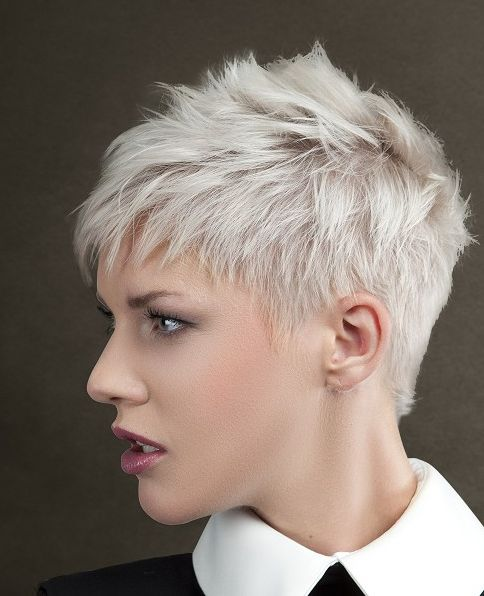 blonde short spiky haircuts for women 226 best images about short spiky hair on pinterest