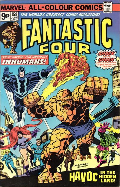 Cover for Fantastic Four (Marvel, 1961 series) #159 [Regular Edition]