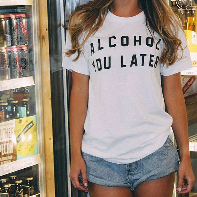 Alcohol You Later Graphic Tee